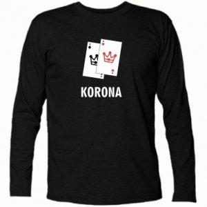 Koszulka z długim rękawem Korona