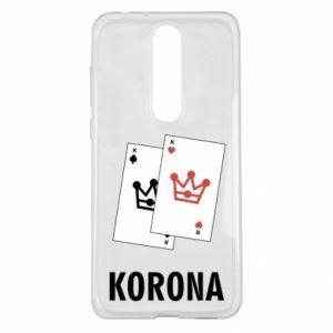 Nokia 5.1 Plus Case Crown