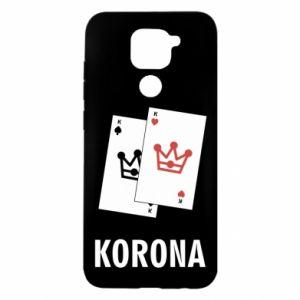 Xiaomi Redmi Note 9 / Redmi 10X case % print% Crown