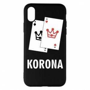 Etui na iPhone X/Xs Korona