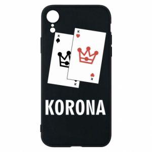 Etui na iPhone XR Korona