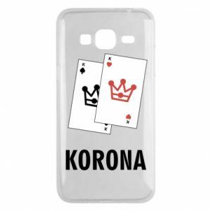 Etui na Samsung J3 2016 Korona