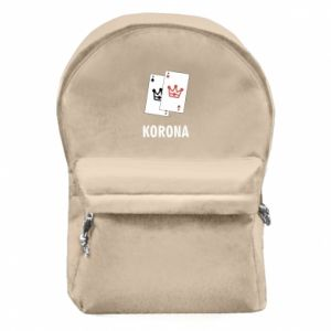 Backpack with front pocket Crown