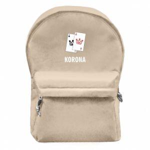 Plecak z przednią kieszenią Korona
