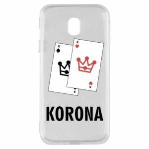 Etui na Samsung J3 2017 Korona