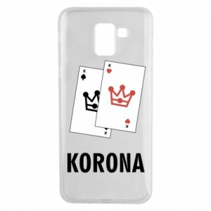 Etui na Samsung J6 Korona