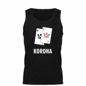 Męska koszulka Korona