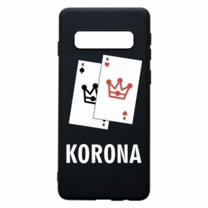 Samsung S10 Case Crown