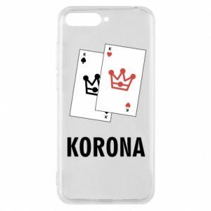 Etui na Huawei Y6 2018 Korona