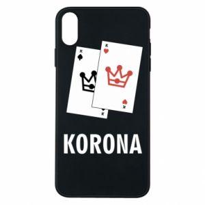 Etui na iPhone Xs Max Korona