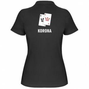 Damska koszulka polo Korona