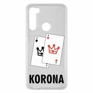 Xiaomi Redmi Note 8 Case Crown