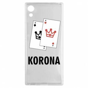 Sony Xperia XA1 Case Crown