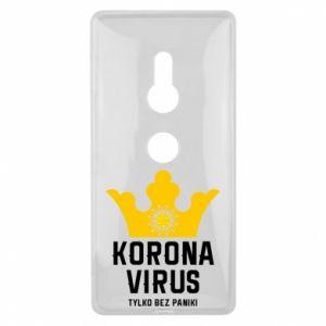 Etui na Sony Xperia XZ2 Koronawirus