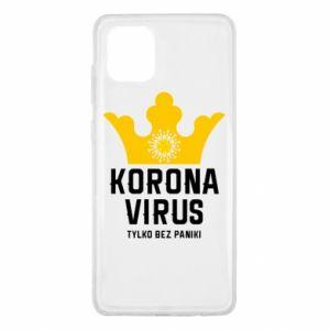 Etui na Samsung Note 10 Lite Koronawirus