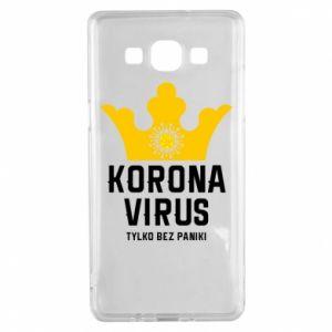 Etui na Samsung A5 2015 Koronawirus