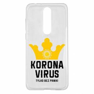 Etui na Nokia 5.1 Plus Koronawirus