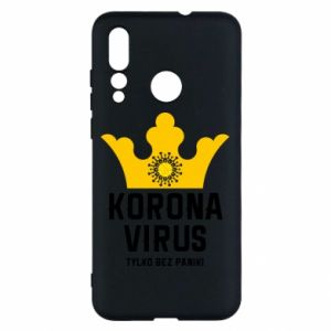 Etui na Huawei Nova 4 Koronawirus