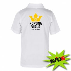 Children's Polo shirts Coronavirus