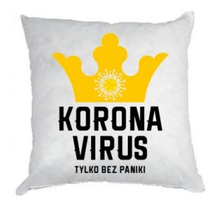 Poduszka Koronawirus