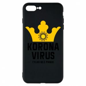 Phone case for iPhone 7 Plus Coronavirus