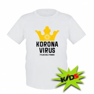 Kids T-shirt Coronavirus