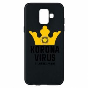 Phone case for Samsung A6 2018 Coronavirus