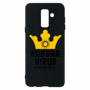 Phone case for Samsung A6+ 2018 Coronavirus
