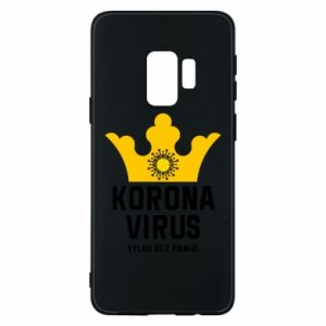 Phone case for Samsung S9 Coronavirus