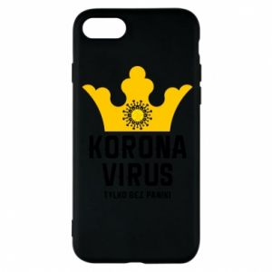 Phone case for iPhone 8 Coronavirus