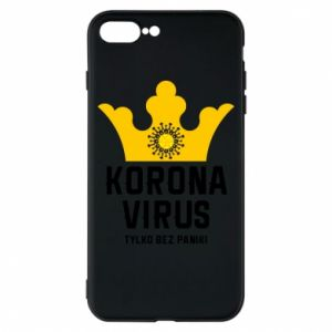 Phone case for iPhone 8 Plus Coronavirus