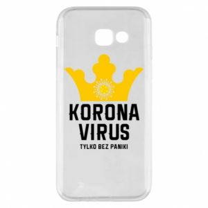 Phone case for Samsung A5 2017 Coronavirus