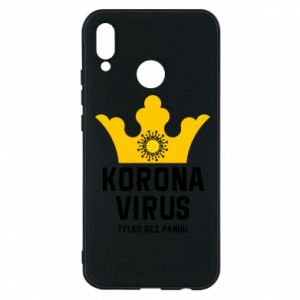Phone case for Huawei P20 Lite Coronavirus