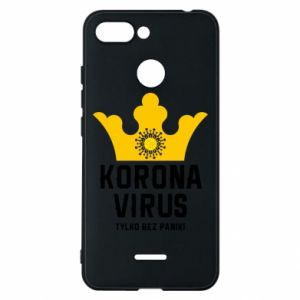 Phone case for Xiaomi Redmi 6 Coronavirus
