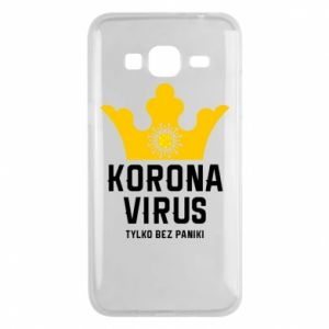 Phone case for Samsung J3 2016 Coronavirus
