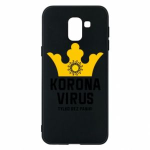 Phone case for Samsung J6 Coronavirus
