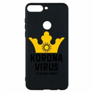 Phone case for Huawei Y7 Prime 2018 Coronavirus