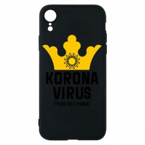 Phone case for iPhone XR Coronavirus