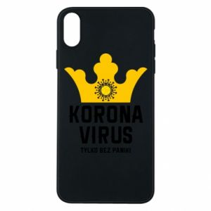 Phone case for iPhone Xs Max Coronavirus
