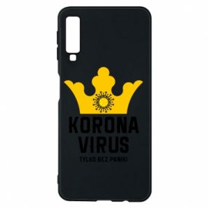 Phone case for Samsung A7 2018 Coronavirus