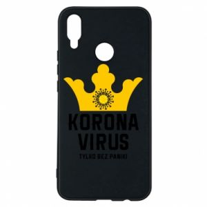 Phone case for Huawei P Smart Plus Coronavirus