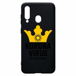 Phone case for Samsung A60 Coronavirus