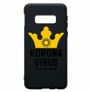Phone case for Samsung S10e Coronavirus