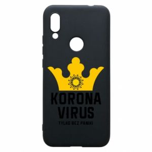 Phone case for Xiaomi Redmi 7 Coronavirus