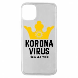 Phone case for iPhone 11 Pro Coronavirus