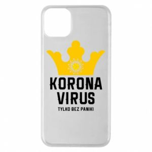 Phone case for iPhone 11 Pro Max Coronavirus