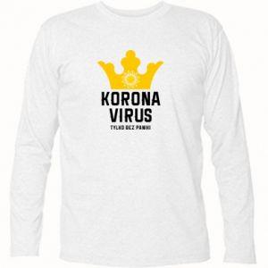 Koszulka z długim rękawem Koronawirus
