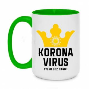 Two-toned mug 450ml Coronavirus