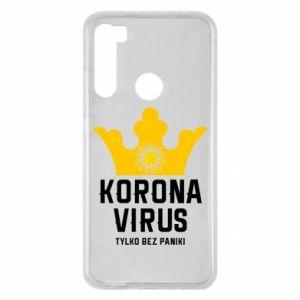 Etui na Xiaomi Redmi Note 8 Koronawirus