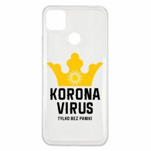 Etui na Xiaomi Redmi 9c Koronawirus